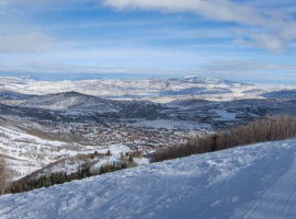 Park City Mountain Resort, Utah.