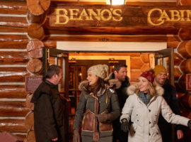 Beanos Cabin in Beaver Creek is accessible via a sleigh ride, and features a memorable five-course meal.