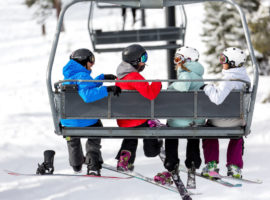 Do you know the easiest way to get on and off the chairlift?