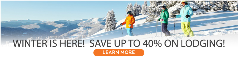 Save up to 40% on lodging