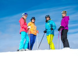 Ski resorts are fantastic places for both adventure and relaxation with your best friends.