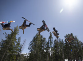 Rodeo flip at Kirkwood.