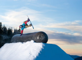 Terrain parks offer a unique experience for a wide range of abilities.