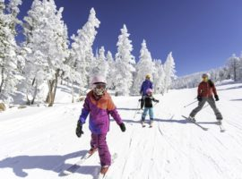 Heavenly Mountain Resort in California is one of the country's best options for beginning skiers.