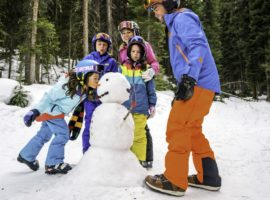 A family ski vacation can be an unforgettable way to spend the holidays. © Vail Resorts