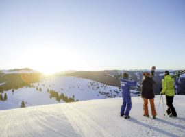 Feeling comfortable on intermediate runs opens up whole new areas of the mountain. © Vail Resorts