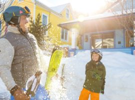 Park City is one of the largest resorts in North America, and it offers lots of options for first-time skiers and snowboarders. © Vail Resorts