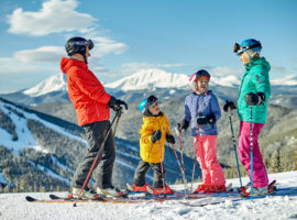 Keystone Resort is just one of the family-friendly options that are available on the I-70 corridor in Colorado. © Vail Resorts