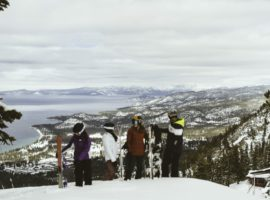 Rent the latest skis and snowboards to explore Heavenly's 5,000 acres of terrain in Lake Tahoe.