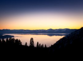 Northstar offers spectacular views of Lake Tahoe.